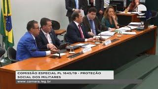 Proteção social dos militares - Reforma da Previdência dos Militares - Votação do parecer do relator - 16/10/2019 14:00