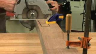 Gunsmithing - How to Make a Stock Blank from Lumber Presented by Larry Potterfield of MidwayUSA