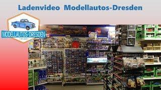 Ladenvideo von Modellautos-Dresden + restaurierte Auto-Modelle