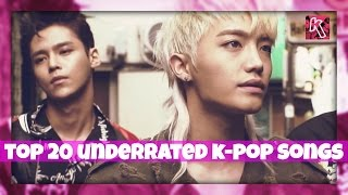 [TOP 20] Underrated K-Pop Songs - December 2016 (Week 2)