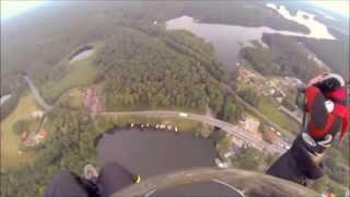 preview picture of video 'Dni Ruciane Nida 2014 z perspektywy paralotniowej Zobacz z góry'