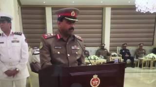 مقدمة افتتاحية للعقيد الركن مساعد خزام الحمدان ٢٠١٧ في نادي ضباط الجيش