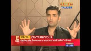 Bollywoods Fantastic 4 Karan Zoya Dibakar & Anurag Exclusive Interview