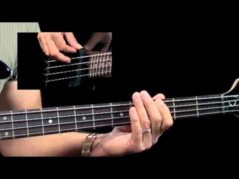 How to Play Bass Guitar - Straight 8th Grooves - Bass Guitar Lessons for Beginners - Jump Start