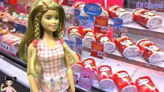 Thơ Nguyễn - Búp bê đi siêu thị mua bánh kẹo tổ chức sinh nhật