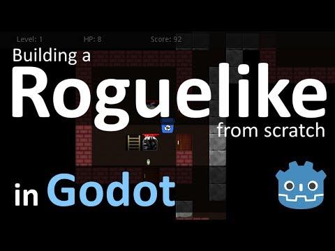 Procedural Generation in Godot: Dungeon Generation (part 1