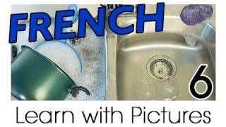 Learn French - French Kitchen Vocabulary