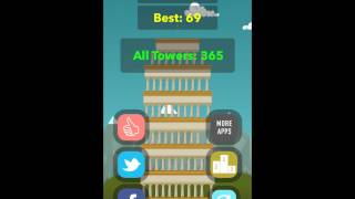 preview picture of video 'Big Towers Game iPhone, iPad, iPod Touch Gameplay'