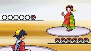 All Battles vs Kimono Girls!! [Pokemon HeartGold]