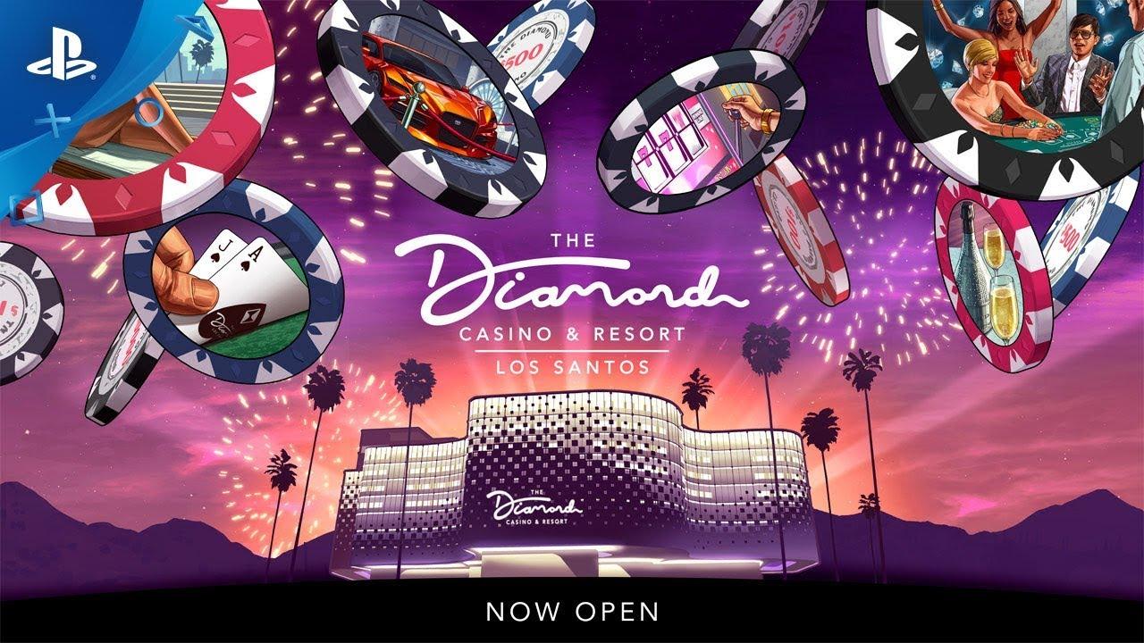 A Grande Abertura do Diamond Casino & Resort – 23 de Julho