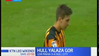 Hull city yalaza Gor Mahia mabao 4-3 kupita mikwaju ya penalti.