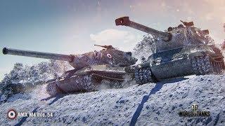 AMX M4 mle. 54 - ТОПОВЫЙ АЛЬФА ВОИН! #AMX