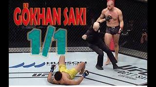 Gökhan Saki vs Luis Henrique│İlk UFC Maçı│MMA│Knockout│FULL HD│2017