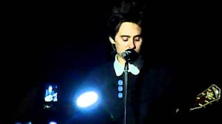 30 Seconds To Mars - A Modern Myth (dedicated to the Pukkelpop 2011 victims) @ Antwerp (30-11-11)