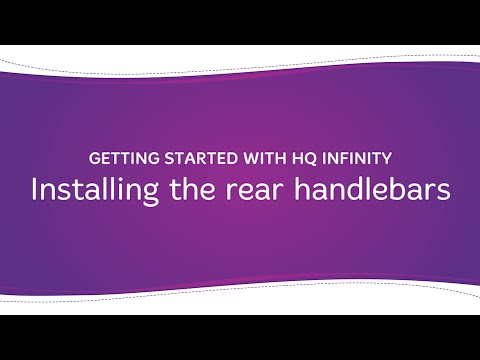 HQ Infinity - Installing the Rear Handlebars