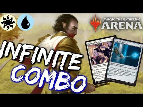UW Famished Combo [MTG Arena] | INFINITE Damage COMBO Deck