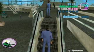 preview picture of video '[PC][HD] GTA Vice City - Mission 045 - Check out at the check in'