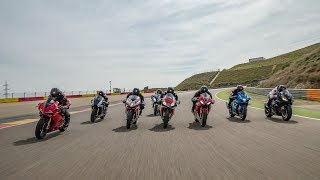 Comparativa supersportive 2017: Aprilia, BMW, Ducati, Honda, Kawasaki, MV, Suzuki, Yamaha