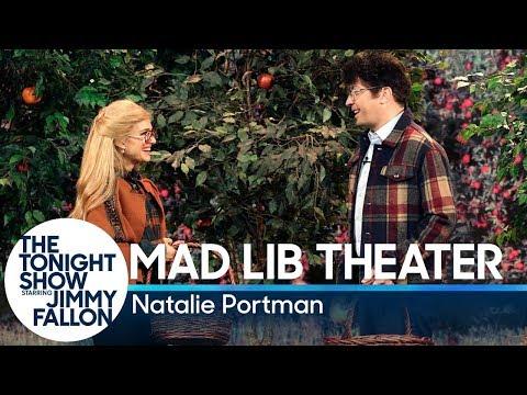 MadLibTheater withNatalie Portman (видео)