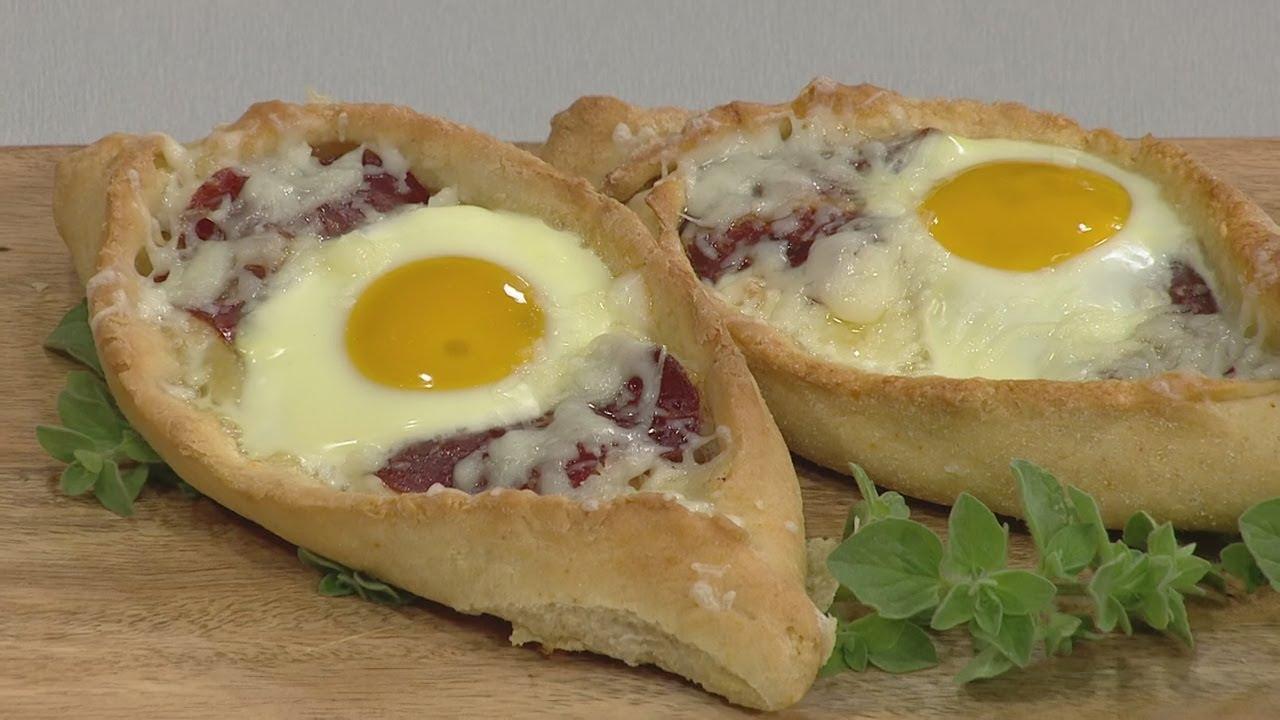 ΠΟΠ Μαγειρική : Πεϊνιρλί με κασέρι, παστουρμά και αβγά | ΕΡΤ