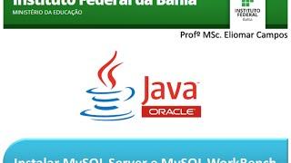 Instalar MySQL Server e MySQL Workbench