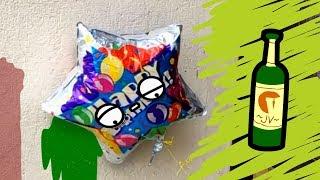 Go home balloon, you are drunk!