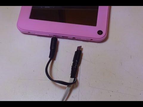 Modificar cable micro USB para que tenga conector de alimentación externo