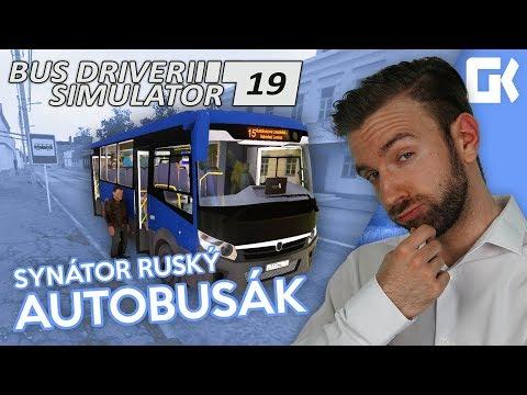 SYNÁTOR RUSKÝ AUTOBUSÁK! | Bus Driver Simulator 2019