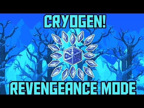 How to Beat Cryogen in Revengeance Mode Terraria Calamity Mod Boss guide -  Gungnir
