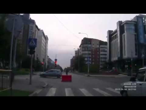 ДТП Авария Тюмень Сбили велосипедиста