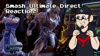 QG Reacts - Super Smash Bros. Ultimate Direct