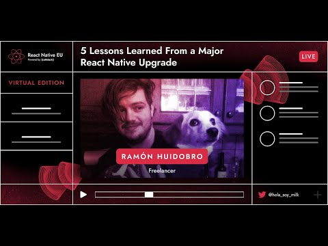 Image thumbnail for talk 5 Lessons Learned From A Major React Native Upgrade