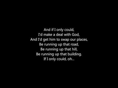 "Placebo - ""Running Up That Hill"" - Lyrics"