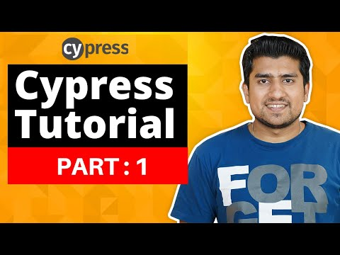 Cypress Tutorial For Beginners : Part 1 ( Creating your first script )