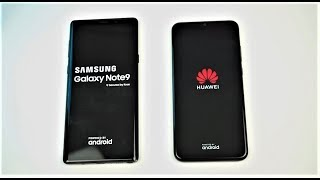 4000 lei vs 1000 lei. Activitati uzuale, Note 9 vs Huawei P Smart 2019