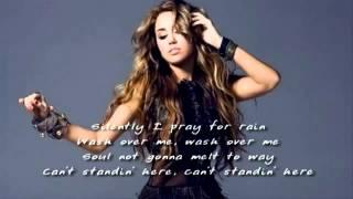 Miley Cyrus  - Burned Up The Night ( Danger Zone ) Lyrics