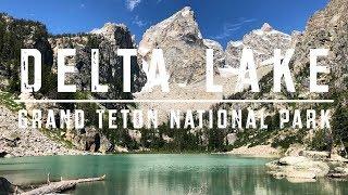 Delta Lake Trail, Grand Teton National Park