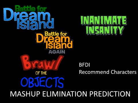 Elimination prediction of the mashup of BFDI, II, BOTO, and the BFDI