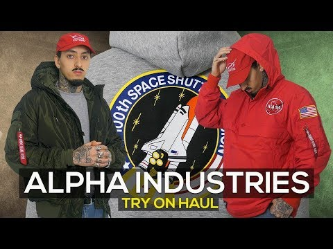 ALPHA INDUSTRIES | REVIEW | TRY ON HAUL | Mens Fashion 2018