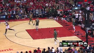 2nd Quarter, One Box Video: Toronto Raptors vs. Milwaukee Bucks
