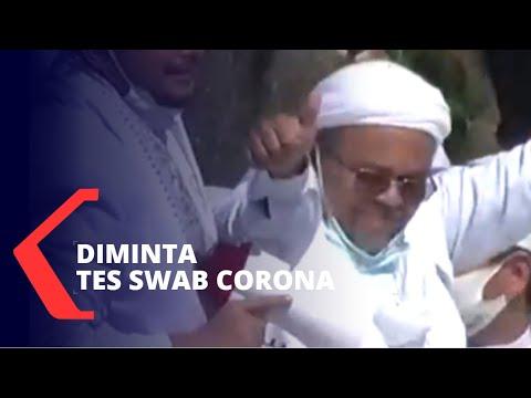 dirawat di rs rizieq shihab diminta tes swab corona