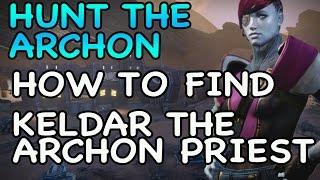 How to Find Keldar the Archon Priest on Mars | Hunter the Archon | Mars Wolves | TTK