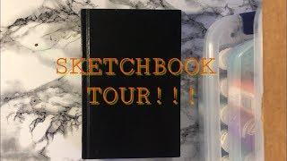 Chatty Sketchbook Tour!! | Inktober 2017\Inktober 2018