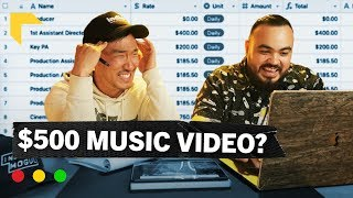 How Much Do Music Videos REALLY Cost | Challenging a Hollywood Producer