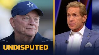 Skip Bayless reacts to Jerry Jones' comments about Ezekiel Elliott's holdout | NFL | UNDISPUTED