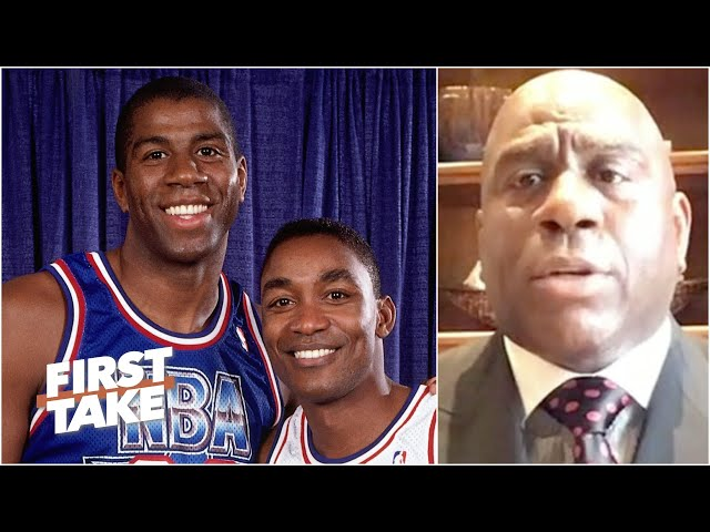 Magic Johnson explains why Isiah Thomas was left off the Dream Team | First Take