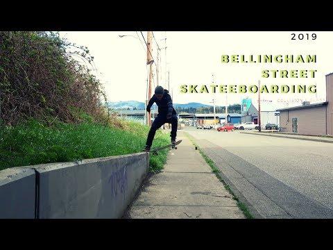 Bellingham Street Skateboarding 2019! #unknownboardshop #Bellingham