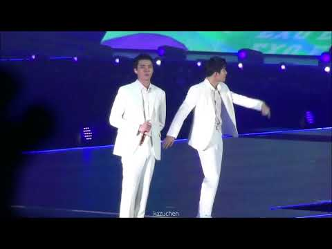 180602 EXO(엑소)-What U Do?(KAI,D.O.,CHANYEOL,XIUMIN→SEHUN,SUHO Focus)full@The EℓyXiOn In HongKongDay1