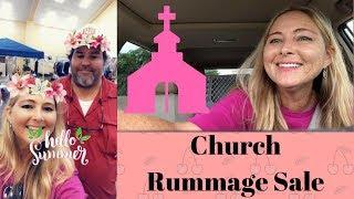 Church Rummage Sale Garage Sales Goodwill Thrift Haul June 1, 2018