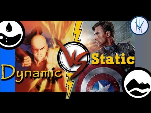 Download Dynamic vs Static Characters. (Part 1/2) Mp4 HD Video and MP3
